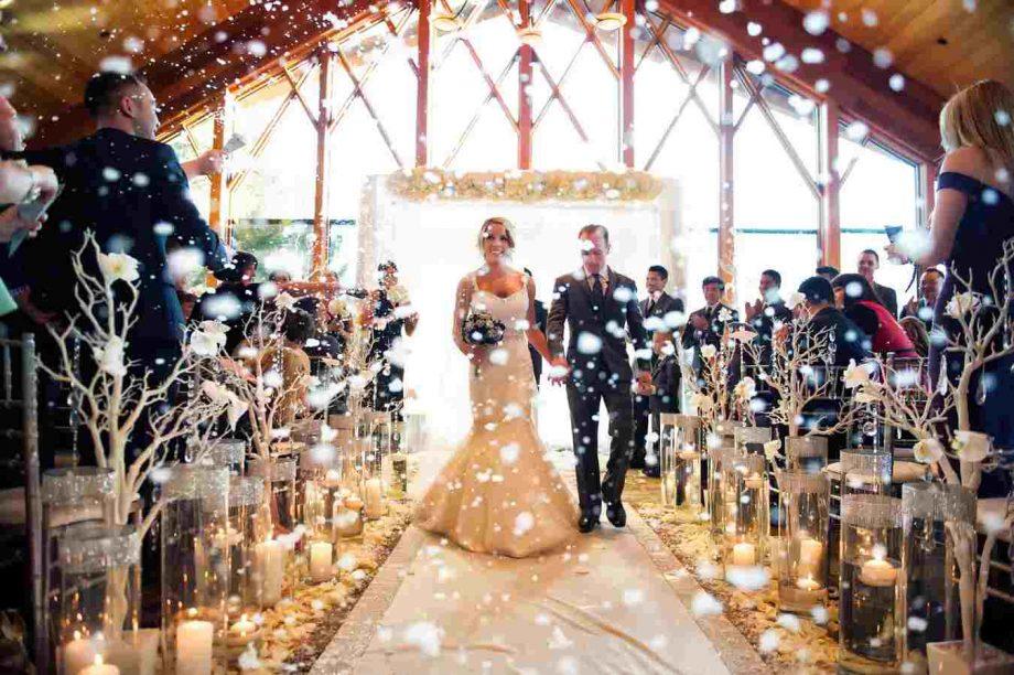 Zima kao inspiracija za romantično venčanje