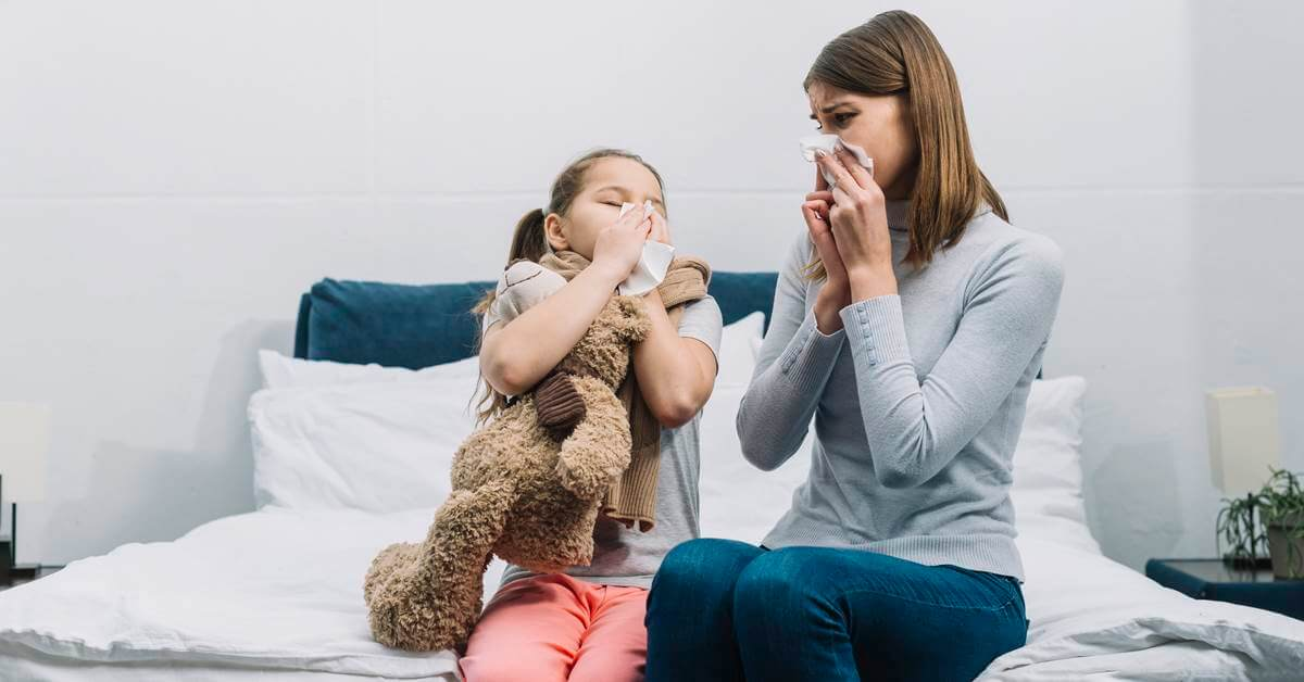 alergija-dete-zena-kijanje
